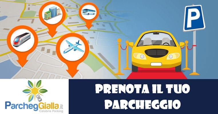 Prenota il tuo Parcheggio Low Cost per raggiungere la stazione Fs, Aereoporto, autobus o il centro città di Lamezia Terme
